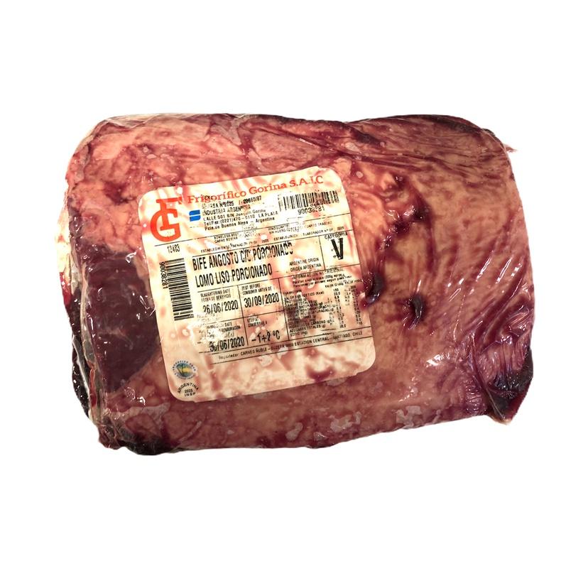 LOMO LISO ARGENTINO( RANGE PATAGONIAN) APROX (Corte de 4,30 kg)