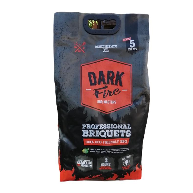 Briqueta Dark Fire (fibra de coco) 5Kg