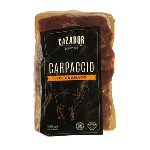 Carpaccio de Guanaco