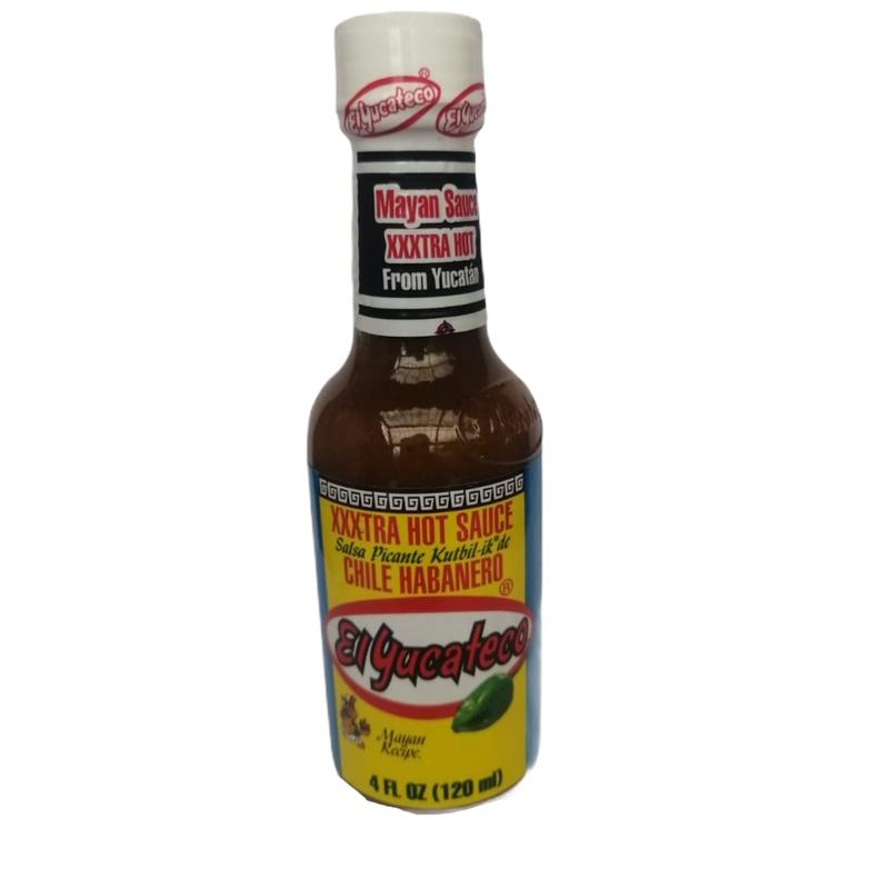 Salsa Habanero Xxxtra Hot Yucateco 120ml