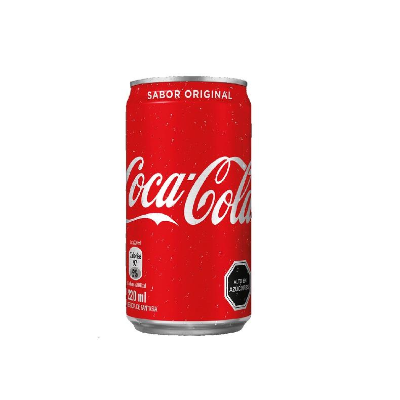 Coca Cola Normal Lata 220 CC