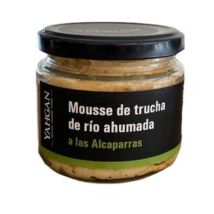 Mousse de Trucha Ahum. Alcaparra 180gr (Yahgan