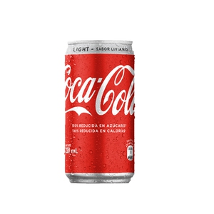 Coca Cola Light Lata 220 CC