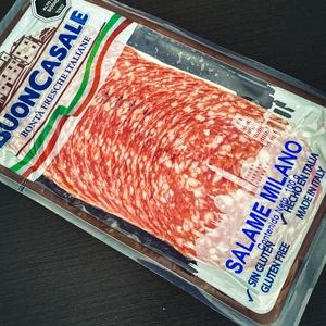 Salame Milano laminado 100 gr (granarolo)