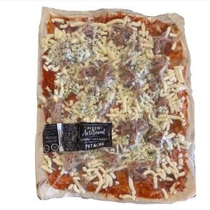 Pizza Artesanal Carne Mechada (Patache)