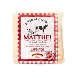 Queso Mantecoso Matthei laminado 500 gr (Rodenberg)