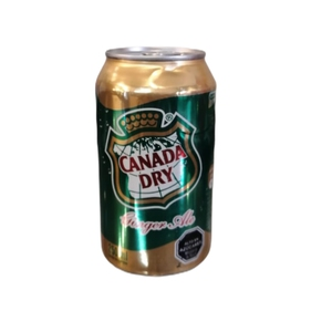 Canada Dry Normal lata 350 CC.. (Canada Dry )