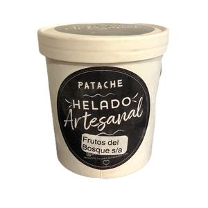 Helado Artesanal Frutos del Bosque Sin Azucar 500ml (Patache)