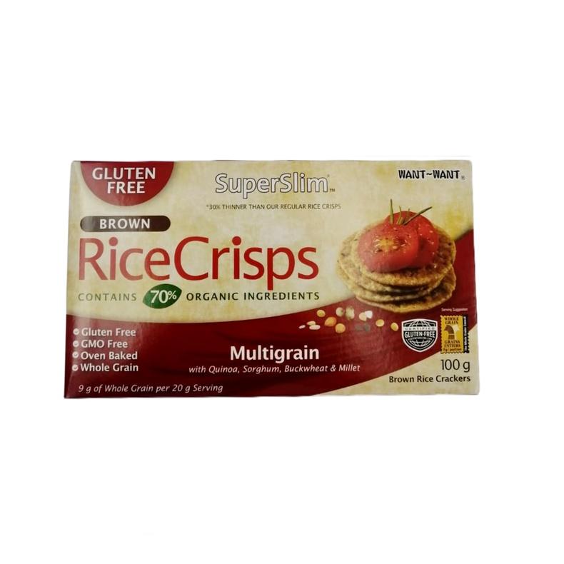 Rice Crisps- Multigrain 100Gr