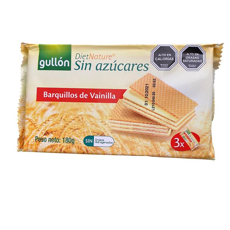 Galleta Barquillos de Chocolate S/ Azucar 210gr (gullon)