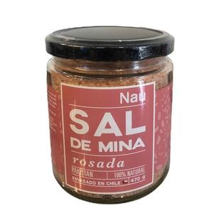 Sal de Mina Rosada 470 grs (Nau)