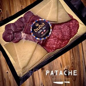 Tabla Mix (jamon serrano, queso, chorizo y salami) Buba