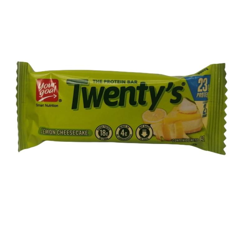 Twentys Lemon Cheesecake Protein Bar 20gr