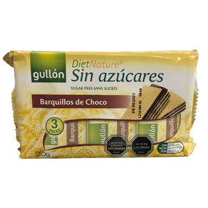 Galleta Choco Chip S7 Gluten S/ Azucar 130gr (gullon)