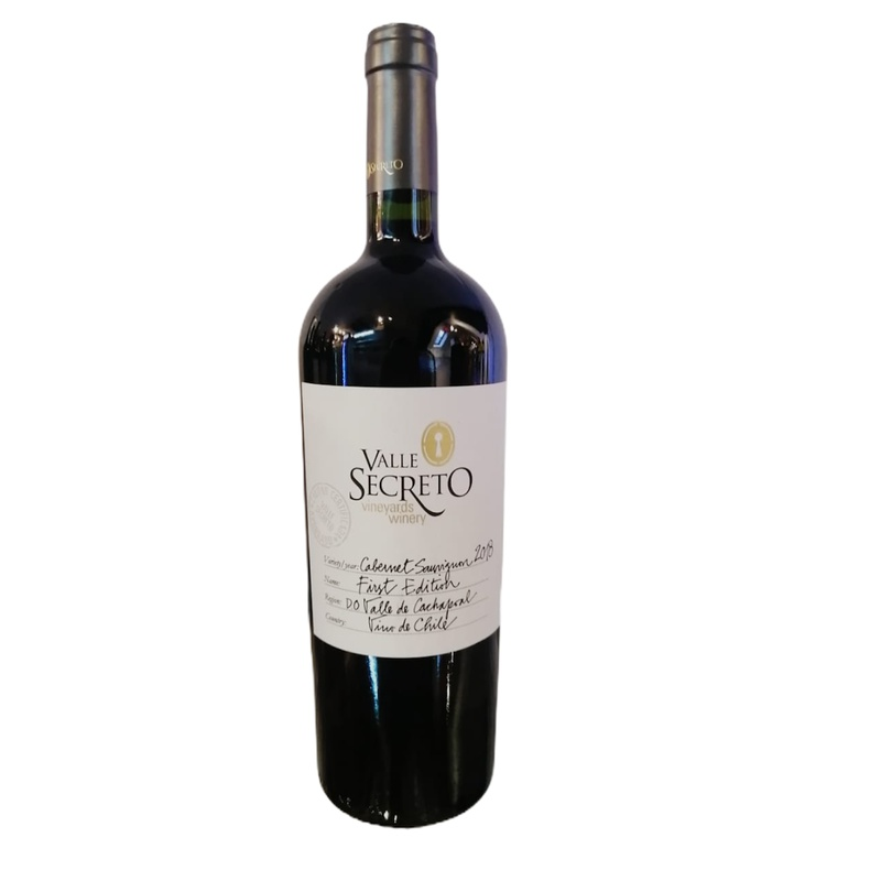 Vino Valle Secreto First Edit Cab. Sauv (Reine