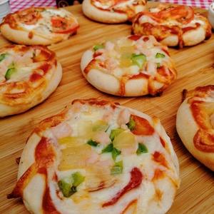 Mini Pizza Jamon Pavo 12 Un (topizzima)
