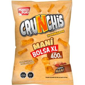 Crunchis Mani 400 Gr Marcopolo