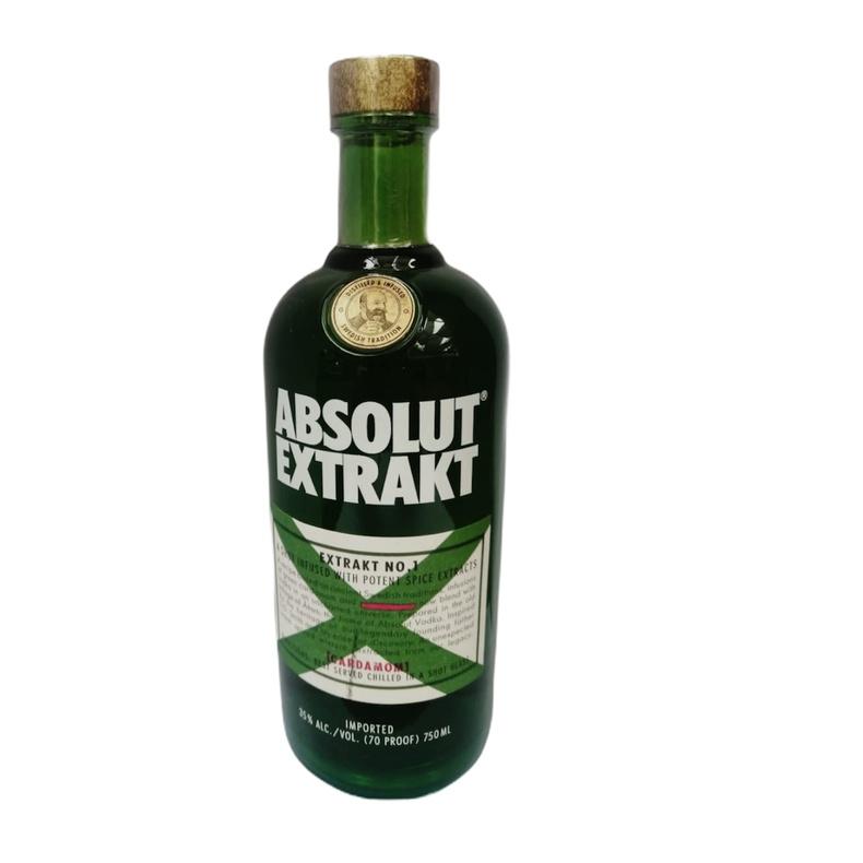 Vodka Absolut Extrakt 750ml (Pisquera Chile)