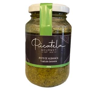 Pesto de Albahaca Trad Genovesa 200gr Picatela