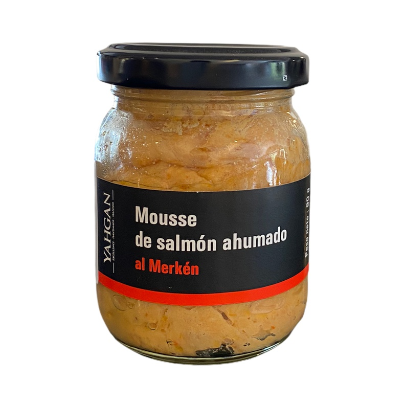 Mousse Salmón ahumado al Merquen 90 Gr (Yahgan)