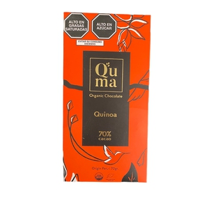 Chocolate Quinoa 70% cacao Quma 70gr