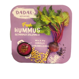 Babar Hummus Betarraga 290gr