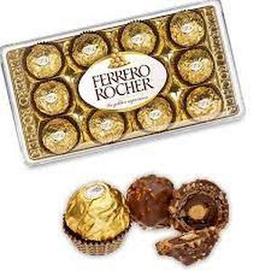 Bombones Ferrero Rocher 12U