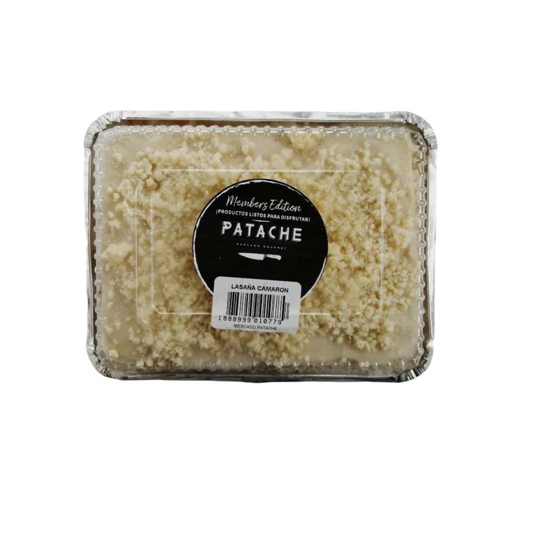 Lasaña de Camarones 1,3 kgs (Patache)