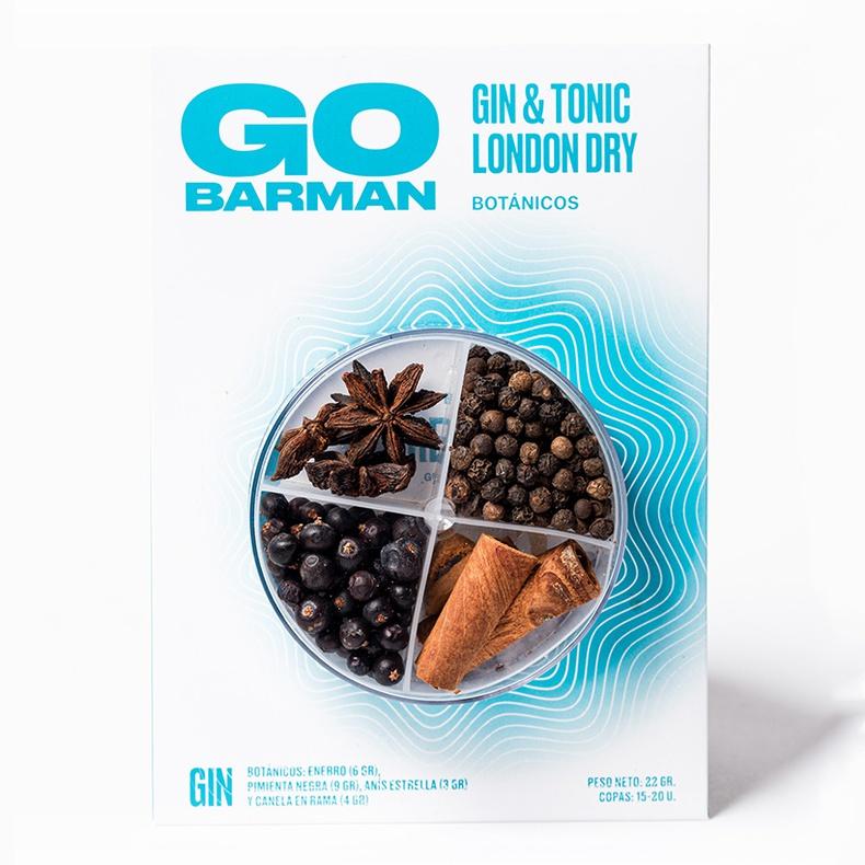 Blister Botanico Gin Tonic London dry (Go Barman)