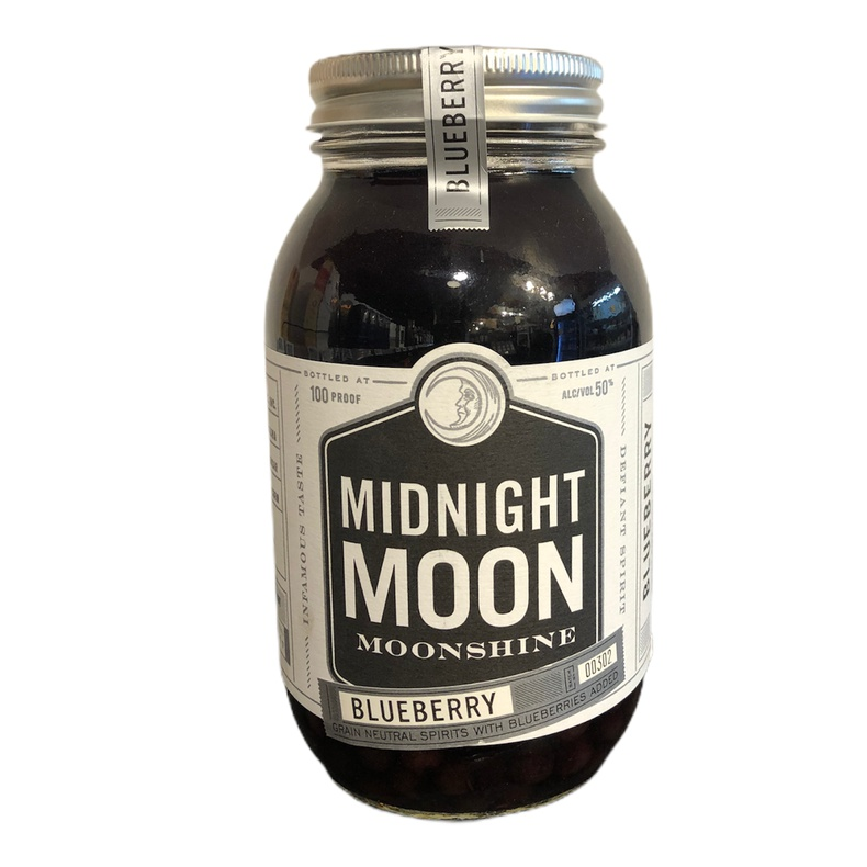 Whisky Midnight Moon Blueberry 750ml (Reinerowines