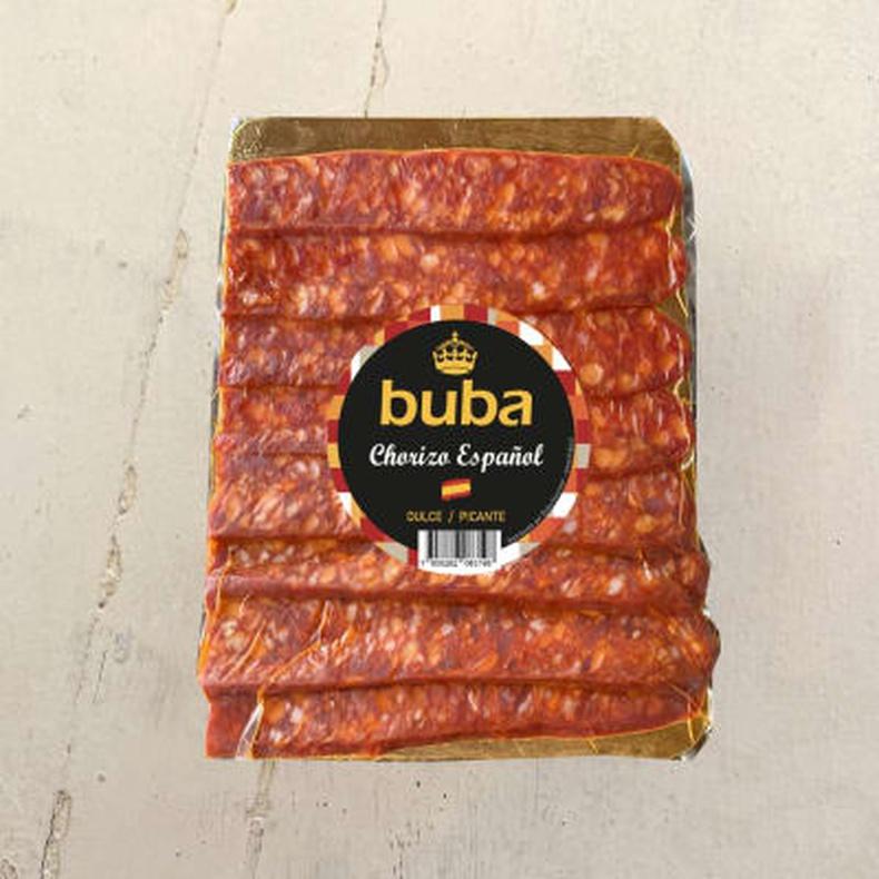 Chorizo Español dulce/picante (Buba) 100 gr