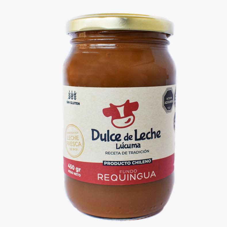 Dulce de Leche Lucuma 450g (Requingua)