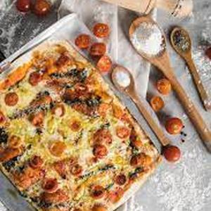 Pizza Artesanal Tomate Pesto (Patache)