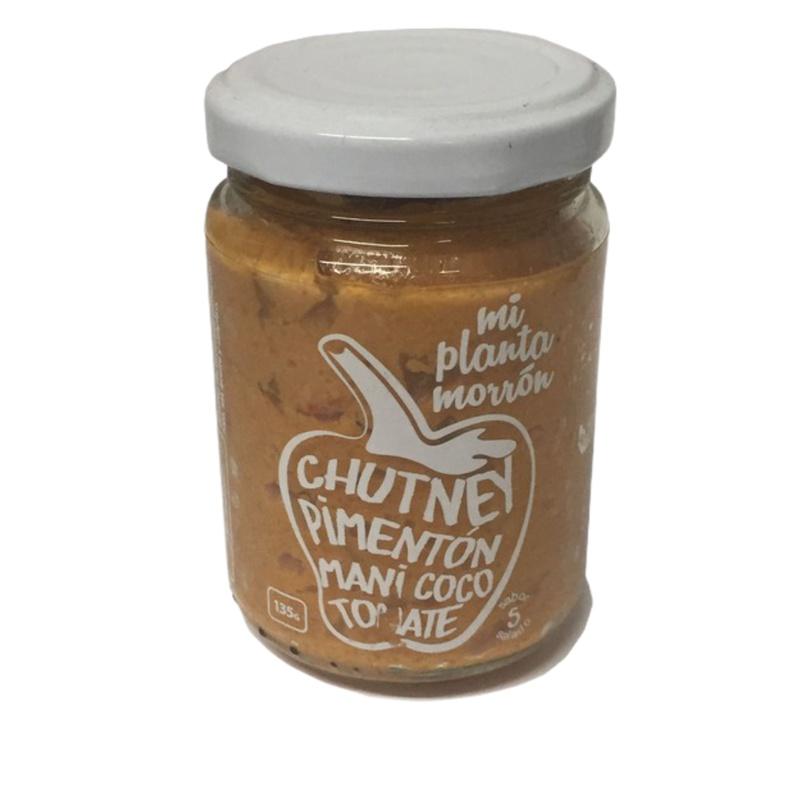 Chutney Pimenton Mani Coco Tomate 135Gr