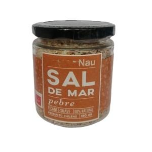 Sal de mar Pebre 380 Gr (NAU)