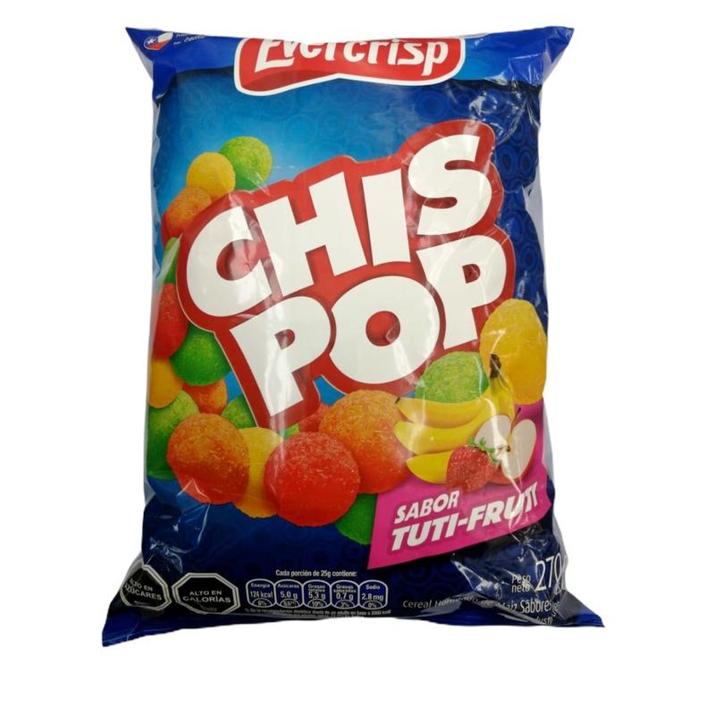 Chis Pop 270Gr (Evercrisp) Tuti Fruti