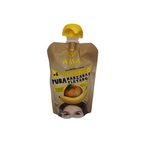 Pure De Fruta Organico Manz/Platano (LOGO)