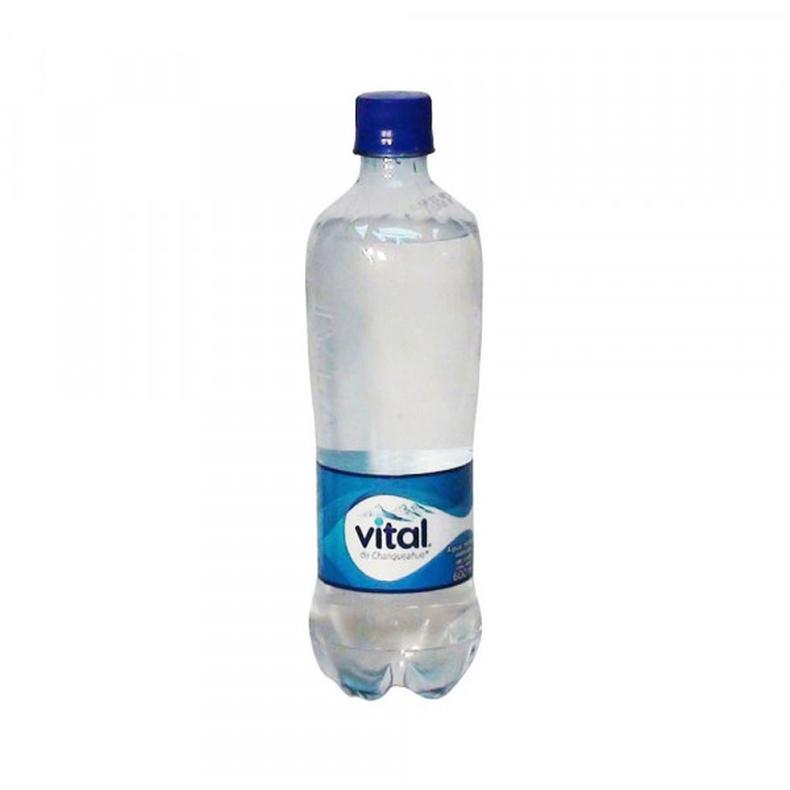 Agua Vital con gas 600 cc
