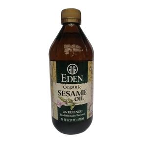 Aceite Sesamo Organico 473 ML ( LOGO)