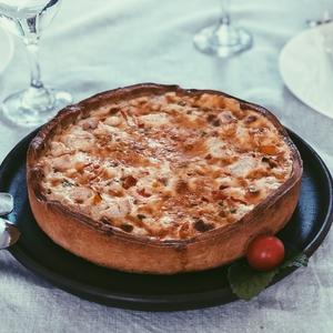 Quiche Pollo Pimenton 4-6 (Patache)