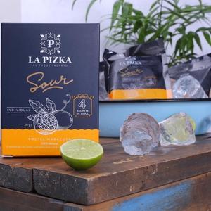 La Pizka Pisco Sour caja Sachets congelado Maracuya