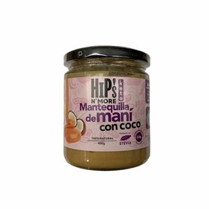 Hips Mantequilla de Mani co Coco 450Gr
