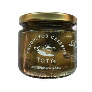 Aceitunas a la Siciliana 210 Grs (TOTY)
