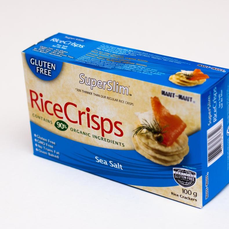 Rice Crisps- Sea Salt 100gr Galletas