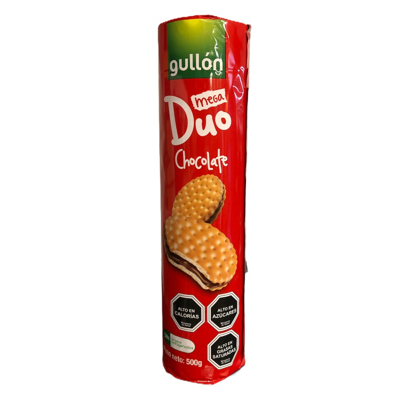 Galleta Mega Duo Chocolate Gullon 500gr (gullon)