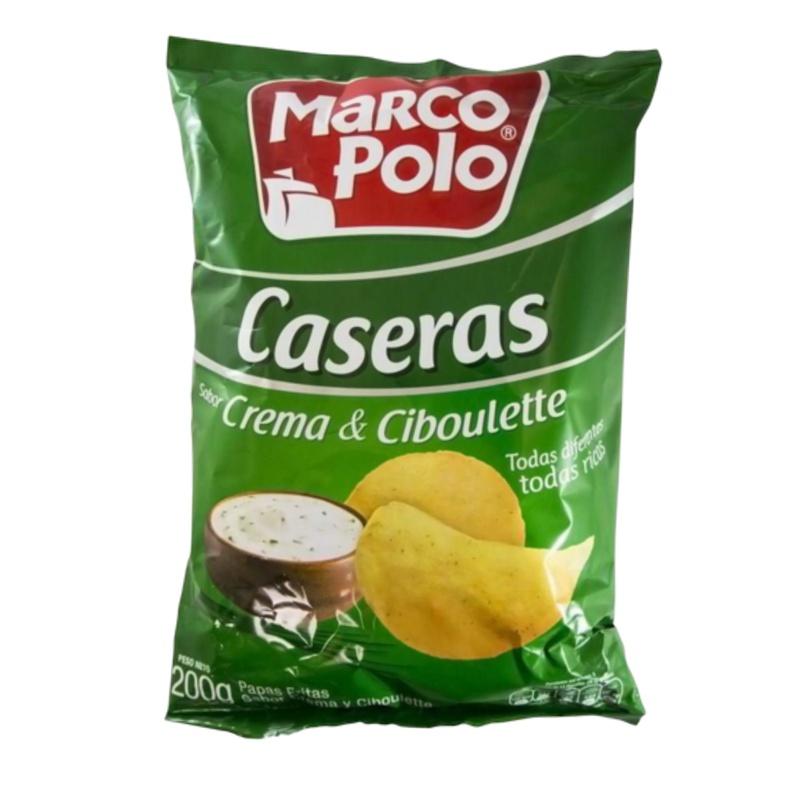 Papas Crema y Ciboulette Marcopolo 200 GR