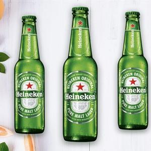 Cerveza Heineken Bot. 330cc.