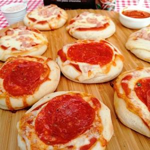 Mini Pizza Pepperoni 12 Un (topizzima)