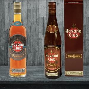 1 Ron Havana Club Añejo Reserva 40° 750 cc. + 1 Ron Havana Club Especial Añejo 70cl Despacho Gratis