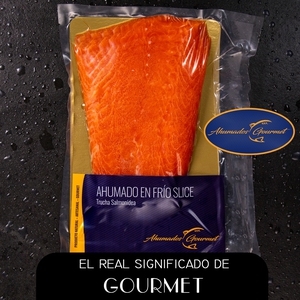 Salmon Ahumado en Frio (Ahumado Gourmet) (Corte de 0,30 kg)